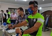 تست پزشکی بازیکنان استقلال خوزستان در ایفمارک + عکس