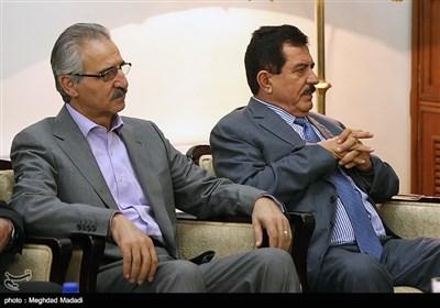 دیدار هیات اقلیم کردستان عراق با علی شمخانی