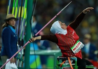 متقیان پرتاب نیزه معلولین