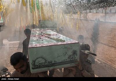 مراسم استقبال از23 شهید گمنام - شیراز
