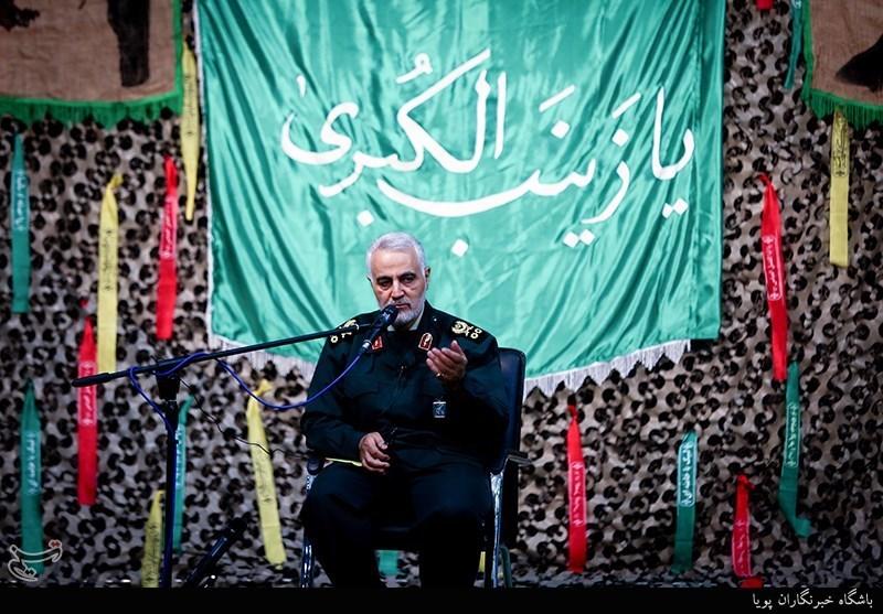 سردار سلیمانی در دیدار با دانشجویان دانشگاه امام حسین(ع)