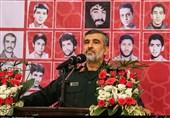 """حرس الثورة الإسلامیة: الضربة الصاروخیة إنتقام أیضاً لدم الطیار الأردنی """"الکساسبة"""""""