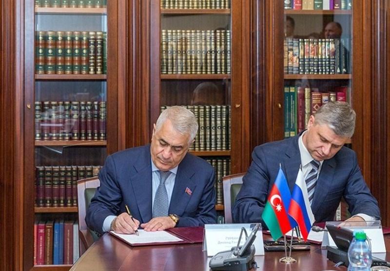 امضای قرارداد راه آهن بین روسیه و آذربایجان