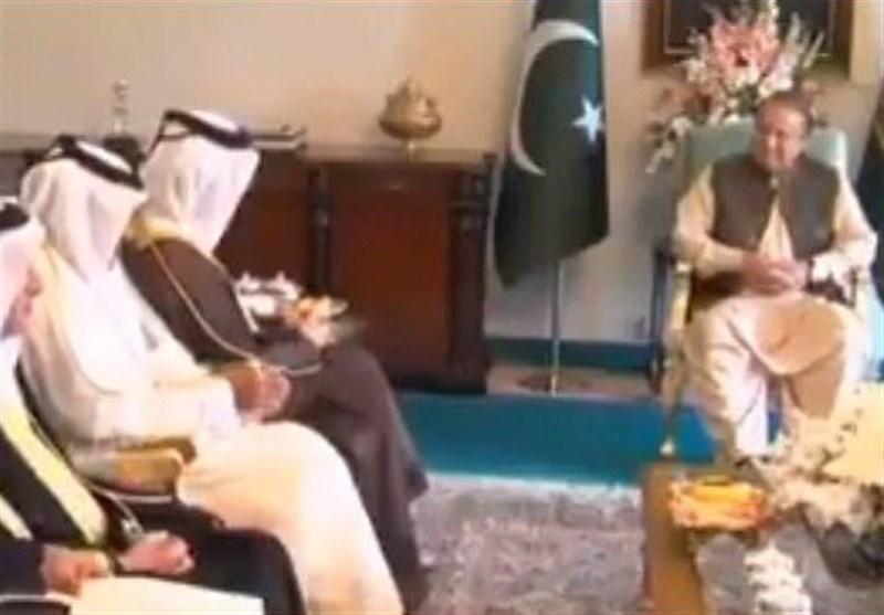 قطری وزیر خارجہ کی وزیر اعظم پاکستان سے ملاقات کے بعد وطن واپسی