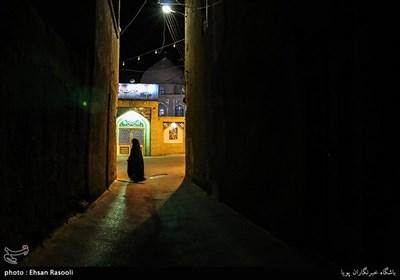 محله سنگ پلوی ، دور نمای مسجد چهل دختران