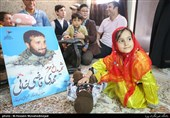 جشن تولد فرزند شهید مدافع حرم قاضی خانی
