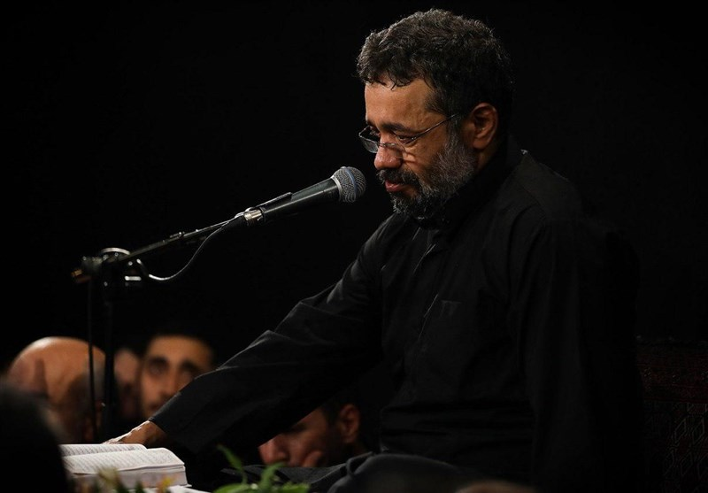 مداحی محمود کریمی در شب هشتم محرم الحرام + فیلم
