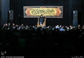 مراسم عزاداری شهادت امام صادق در حسینیه آیت الله حق شناس