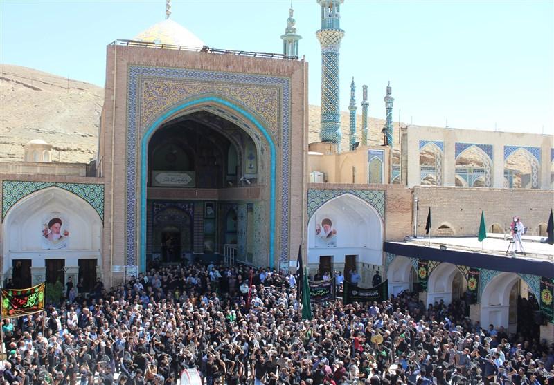 عزاداری امام صادق در مشهد اردهال کاشان
