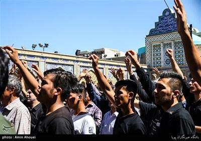 تشییع پیکر شهید مدافع حرم مجید رضایی