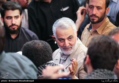 استقبال گسترده ایرانی ها از سخنان سردار سلیمانی با هشتگ #انتقام_مغنیه
