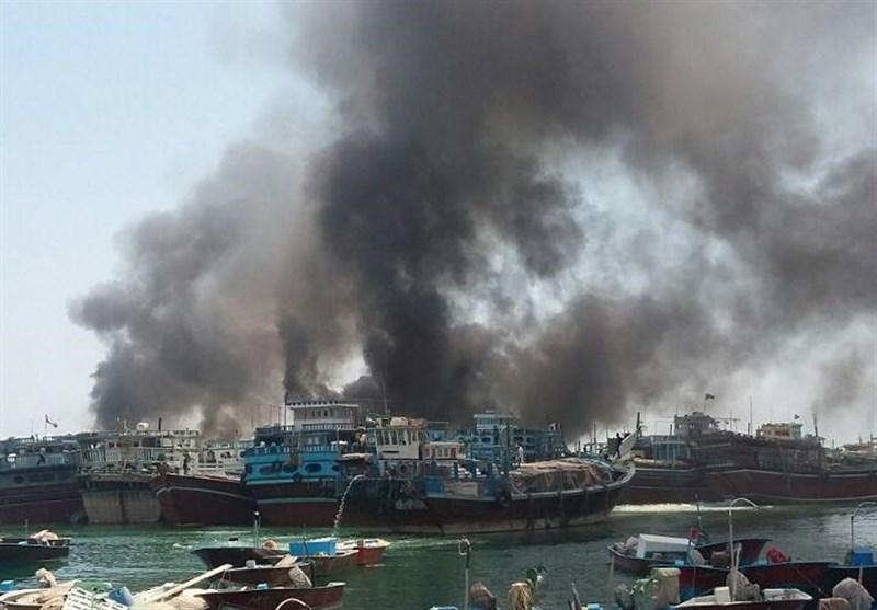 آتشسوزی در اسکله بندر کنگان 70 میلیارد ریال خسارت وارد کرد/مدیر بندر کنگان برکنار شد