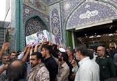 تشییع غواص شهید در اهواز