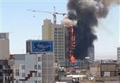 یک هتلآپارتمان در شیراز طعمه حریق شد/ نجات 15 مسافر/ حادثه مصدوم نداشت