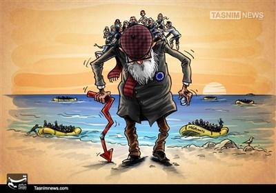 پناہ گزینوں کا بحران اور خستہ حال یورپ !