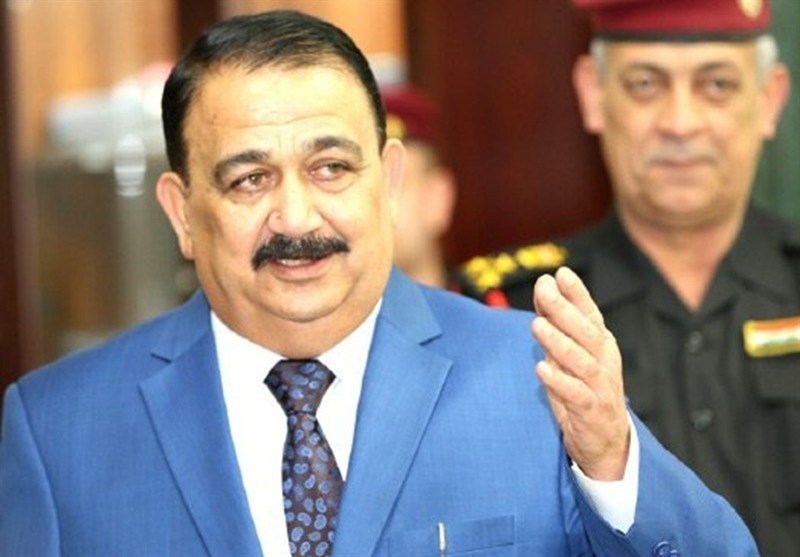 Iraqi DM in Iran for Official Visit