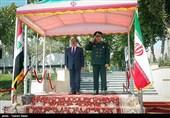 استقبال رسمی از محمود الحیالی وزیر دفاع کشور عراق