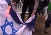 پرچم اسراییل لندن