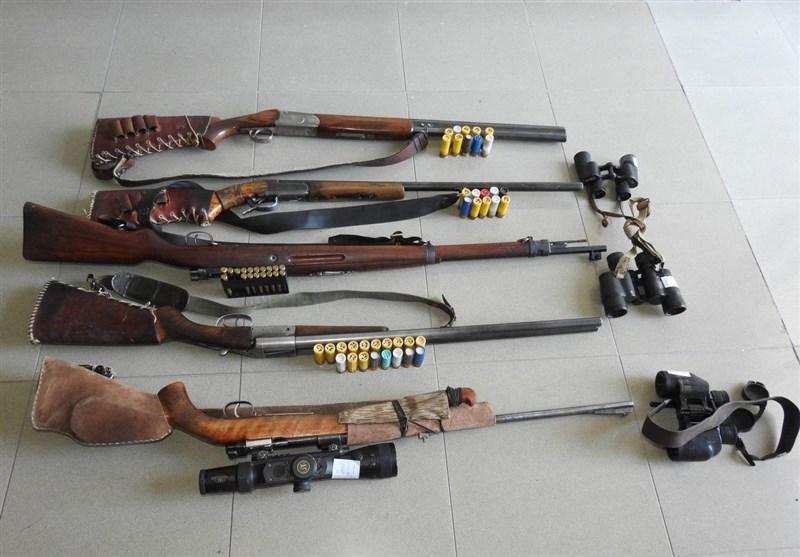 13 شکارچی غیرمجاز در استان مرکزی دستگیر شدند+تصاویر
