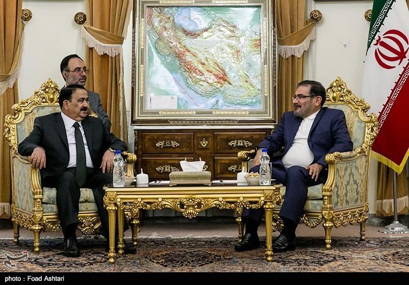 شمخانی: توجهات الانفصال تمهد الارضیة لزعزعة الامن وعدم الاستقرار فی العراق