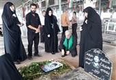 آئین بزرگداشت غواص شهید عملیات کربلای 4 در اهواز برگزار شد
