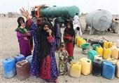 """تراژدی تلخ بیآبی در """"روستاهای بلوچستان"""" پایان ندارد/ حکایت مردمی که از منبع """"مشترک با حیوان"""" آب مینوشند"""