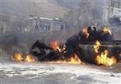 واژگونی تانکر سوخت در جاده بندرعباس میناب دوکشته برجای گذاشت