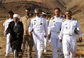 افتتاح پایگاه پشتیبانی ناوگان شمال نداجا/ ناخدا کیانی فرمانده پایگاه شد