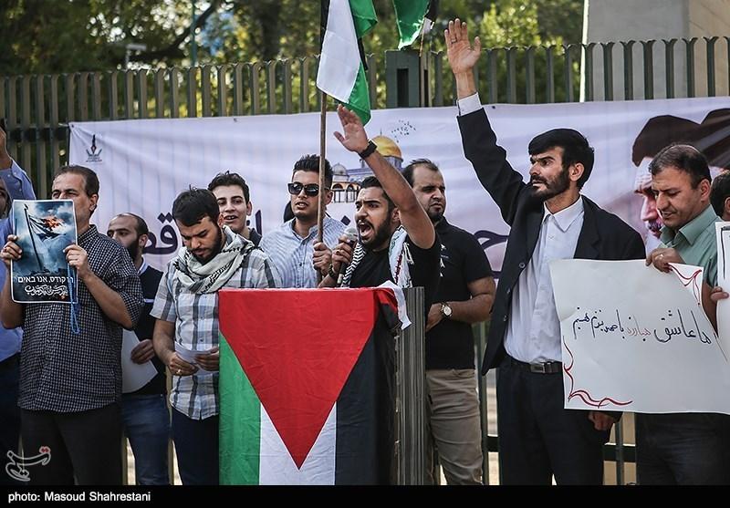 اجتماع دانشجویی و مردمی مدافعان مسجدالاقصی