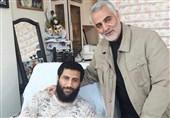 دلتنگیهای جانباز مدافع حرم در دوری از دوستان شهیدش