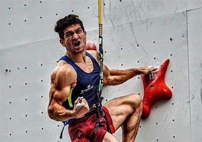 Iran's Alipour Takes Gold at 2018 IFSC Climbing World Cup
