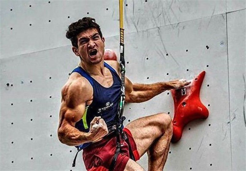 Iran's Climber Reza Alipour Claims Gold Medal at China Open