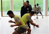 تمرین بسته السد در اتریش/ اسپارتا حریف تیم ژاوی و پورعلیگنجی + عکس