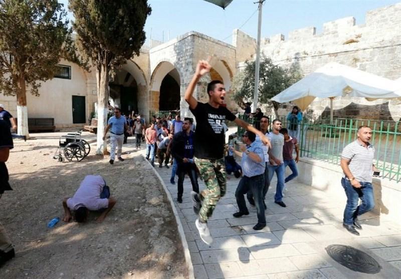 فلسطینیوں کی مسجد الاقصیٰ میں پرجوش آمد کی ویڈیو + تصاویر
