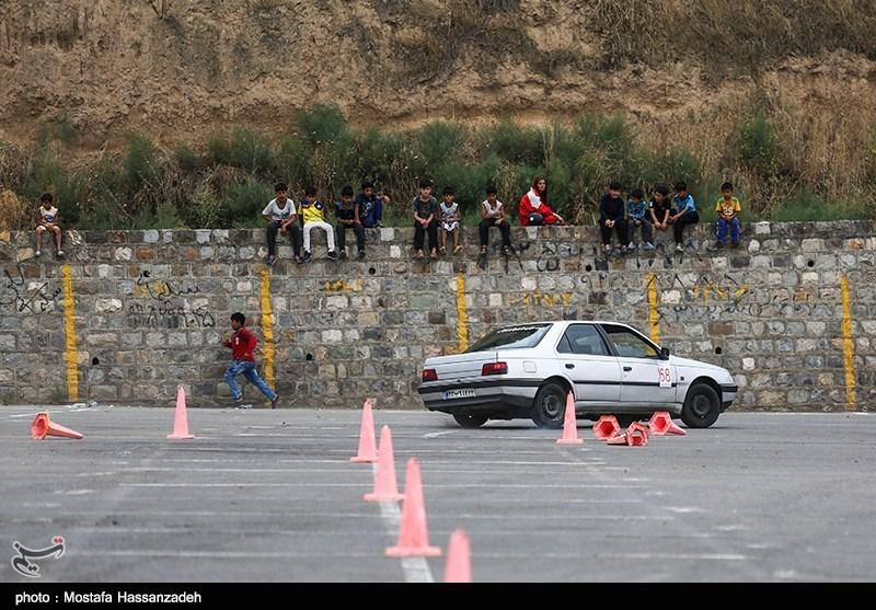 مسابقات راند 2 اتومبیلرانی کشور شاخه اسلانو - گرگان