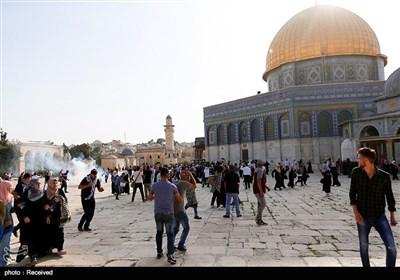 توتر ومواجهات فی المسجد الأقصى