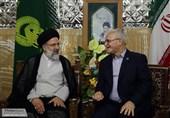 تولیت حرمین کاظمین با تولیت آستان قدس رضوی دیدار کرد