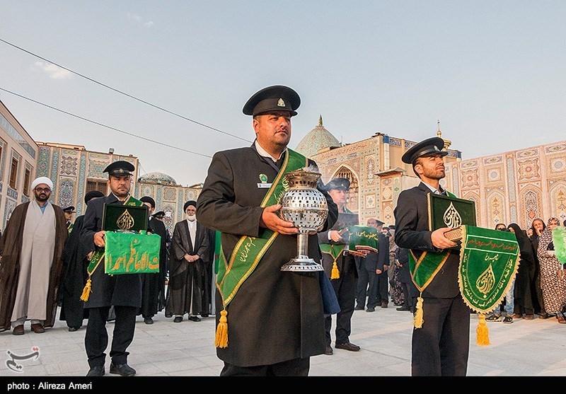 افتتاح صحن حضرت معصومه (س) - شاهچراغ (ع) - شیراز