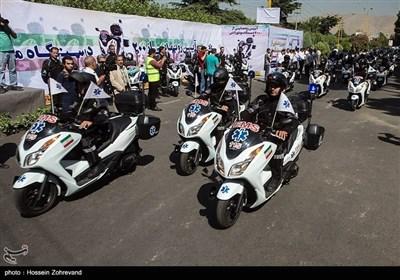 ایران کے دارالحکومت تہران میں موٹر سائیکل ایمبولینس سروس کا آغاز