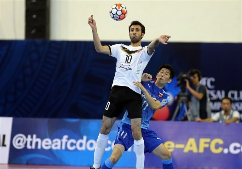 Time to Win AFC Futsal Club Championship Title: Ahmad Esmaeilpour