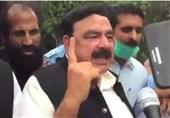 شیخ رشید: حنیف عباسی منشیات فروخت کرتے پکڑے گئے/ ن لیگ کے رہنماوں کا رد عمل