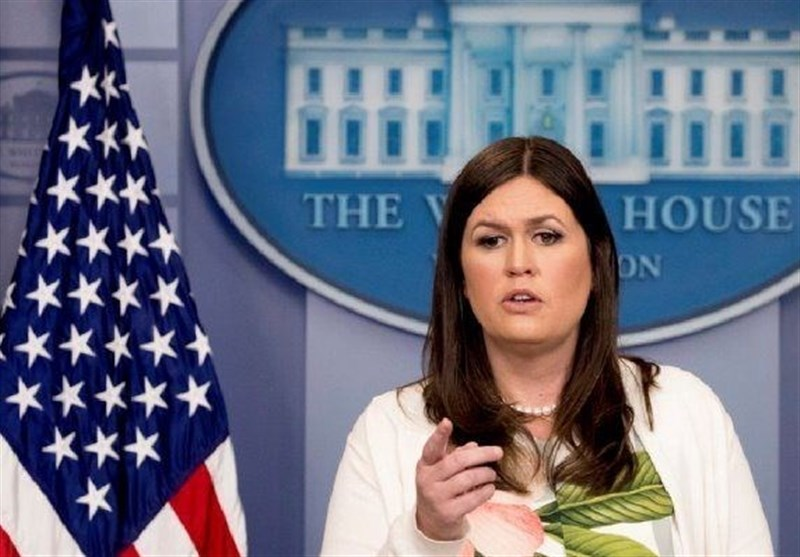 ساران هاکبی ساندرز سخنگوی کاخ سفید