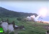 مانور موشکی آمریکا و کره جنوبی/ استقرار سامانه تاد در دستور کار قرار گرفت +فیلم
