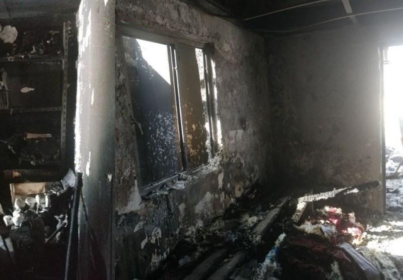 آتشسوزی هتل دیبای شهرکرد مهار شد/ حادثه مصدوم جانی نداشت + تصاویر