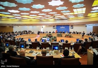 نشست مشترک اعضای شورای گفتوگوی دولت و بخش خصوصی، استانداران و رؤسای اتاقهای بازرگانی سراسر کشور