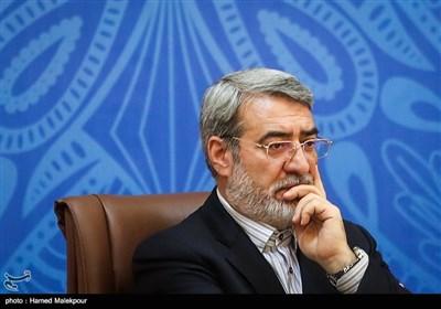 عبدالرضا رحمانی فضلی وزیر کشور در نشست مشترک اعضای شورای گفتوگوی دولت و بخش خصوصی، استانداران و رؤسای اتاقهای بازرگانی سراسر کشور
