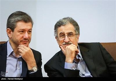 مسعود خوانساری رئیس اتاق بازرگانی تهران در نشست مشترک اعضای شورای گفتوگوی دولت و بخش خصوصی، استانداران و رؤسای اتاقهای بازرگانی سراسر کشور
