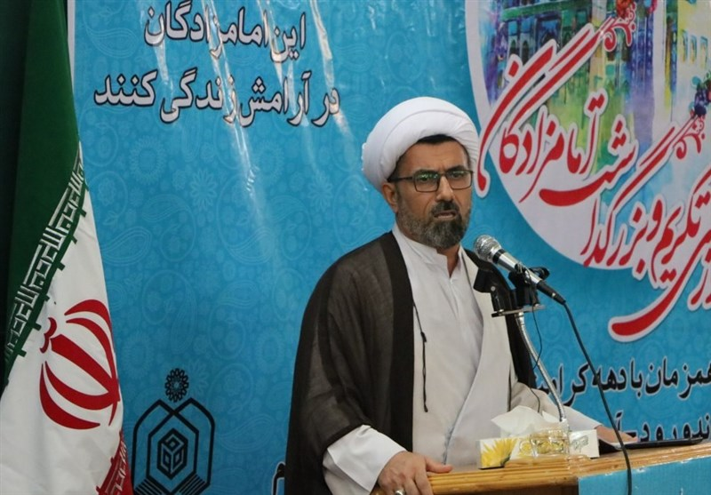 حجت الاسلام حیدری اوقاف مازندران