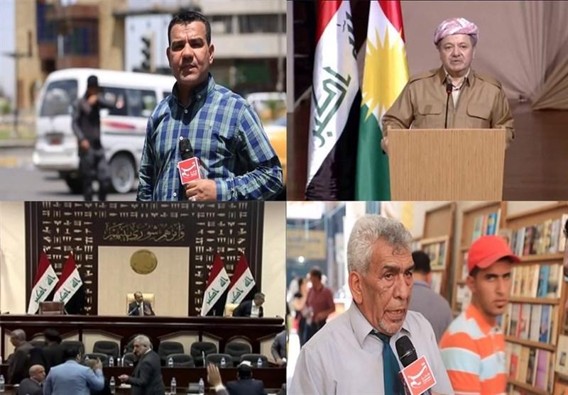 تخوف عراقی حول مصیر اقلیم کردستان..مالذی یریده البارزانی من طرح الاستفتاء؟+فیدیو