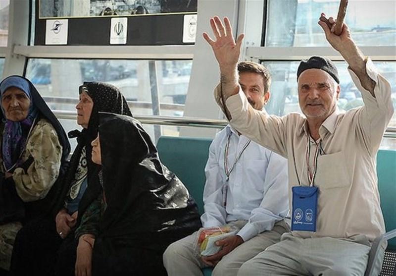 أول حملة للحجاج الایرانیین تغادر الى المدینة المنورة
